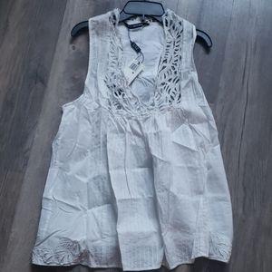 Kas New York Blouse Shirt white new